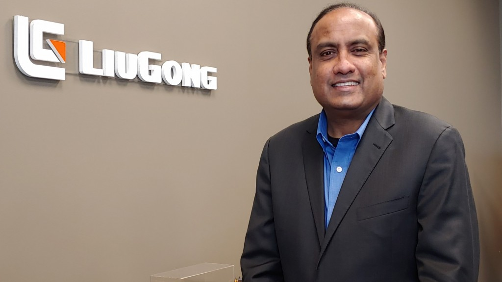 """Prior to joining LiuGong, Iyer served as president and CEO of Mahindra Americas, where he lead the nearly unknown brand to a """"top 3"""" position in the North American market."""