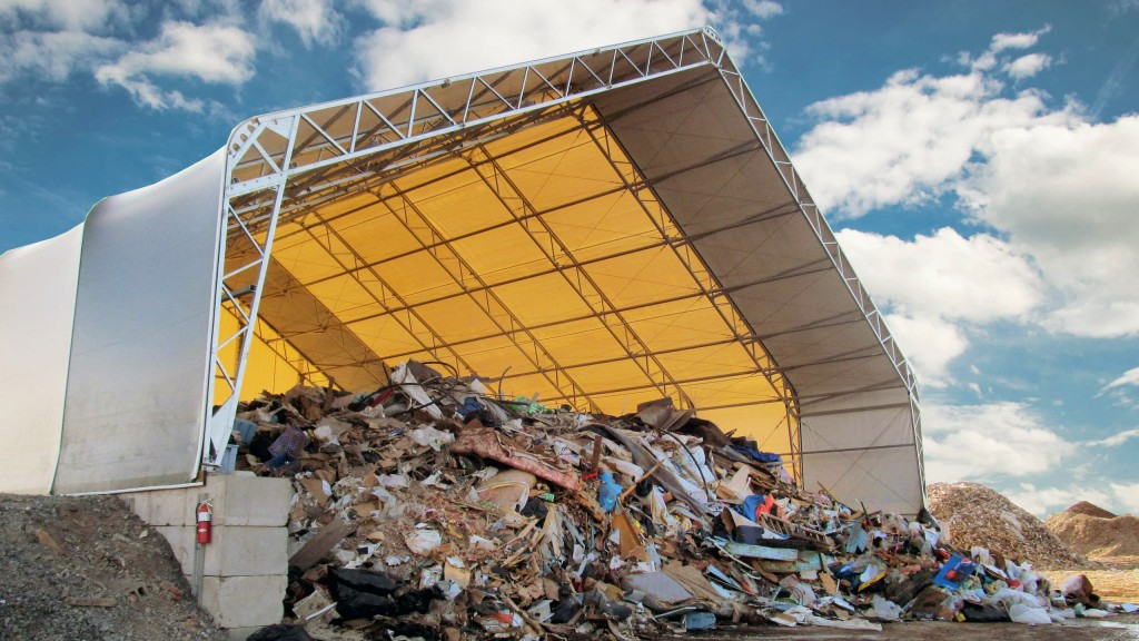 Calhoun's VP Series building is ideal for waste and recycling applications.