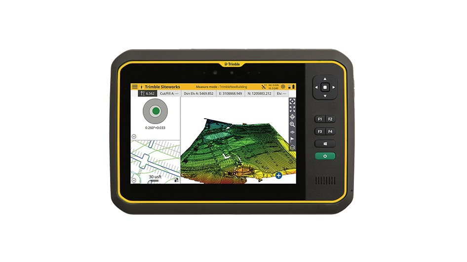 """The Trimble T7 Tablet is the next step in the evolution of our data collection portfolio,"" said Scott Crozier, general manager for Trimble's Civil Engineering and Construction Division."
