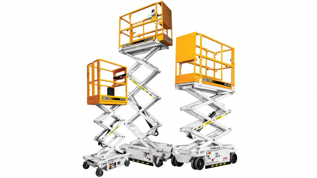 Hy-Brid Lifts announces the next generation of Hy-Brid Lifts to better align with individual user needs. The line is being divided into three series — the Push-Around Series (PA Series), Pro Series (PS Series) and Zero-Turn Series (ZT Series) — to simplify the selection process.  (Photo courtesy of Custom Equipment LLC)