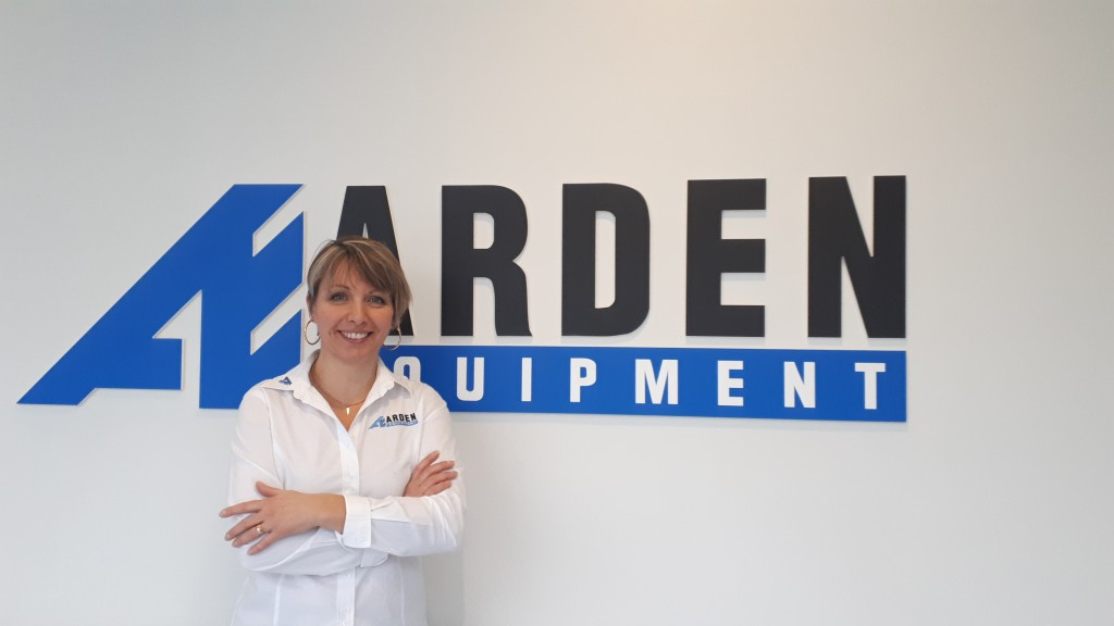 Véronique Le Provost, Business Development Manager North America at Arden Equipment.