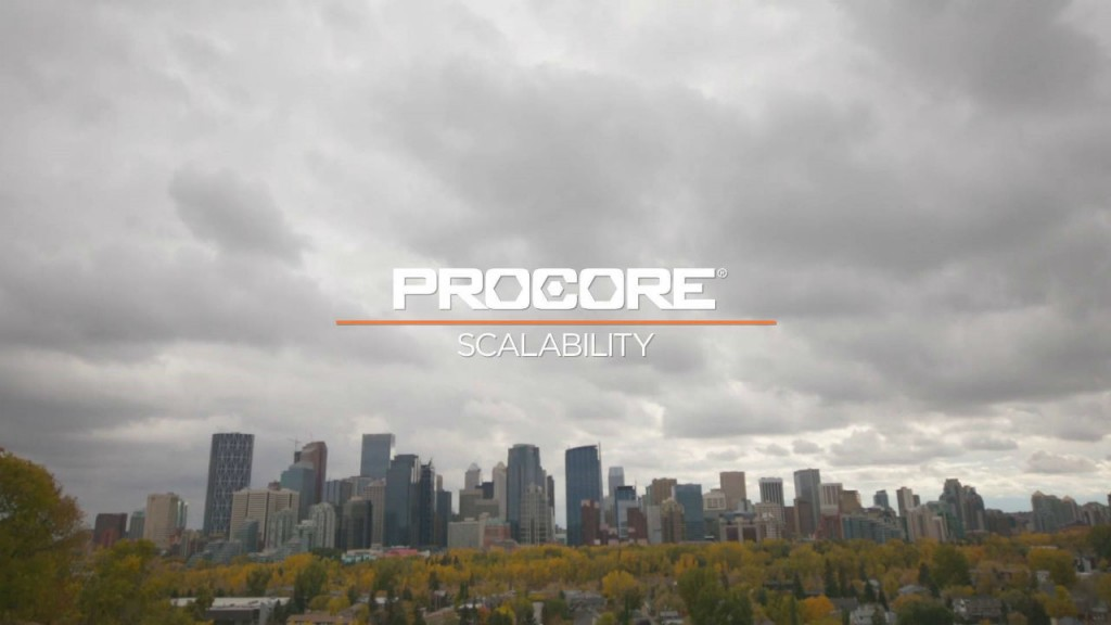 Procore: a solution that grows with your business.