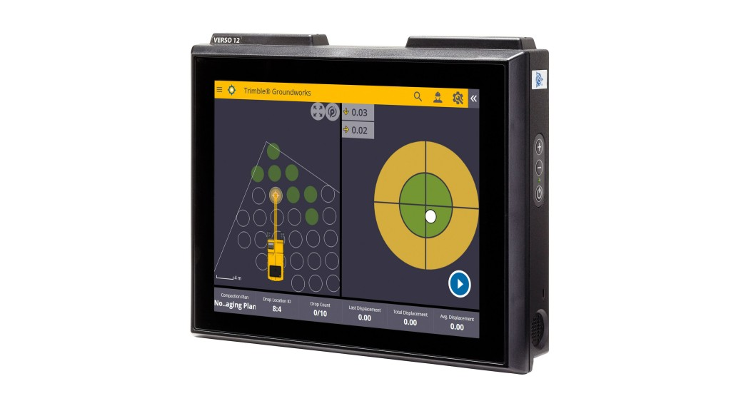 """Engineered for ease of use, Trimble Groundworks features an updated, intuitive user interface designed for construction environments,"" said Scott Crozier, general manager for Trimble's Civil Engineering and Construction Division."