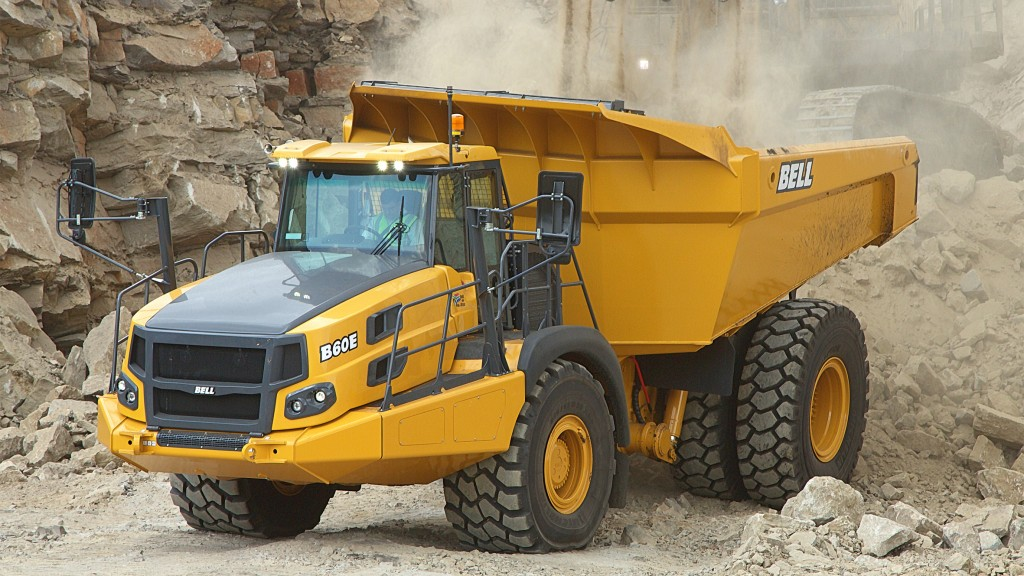 The Bell B45E 4x4 is based on the concept of the larger B60E, which successfully performs in opencast mining and quarrying applications worldwide.