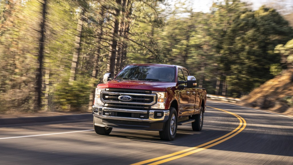 New F-Series SuperDuty improvements include new gas and diesel engines, an all-new 10-speed automatic transmission, chassis upgrades,exterior and interior design updates, and smart advanced technology that raises the bar again in towing, payload and connectivity.