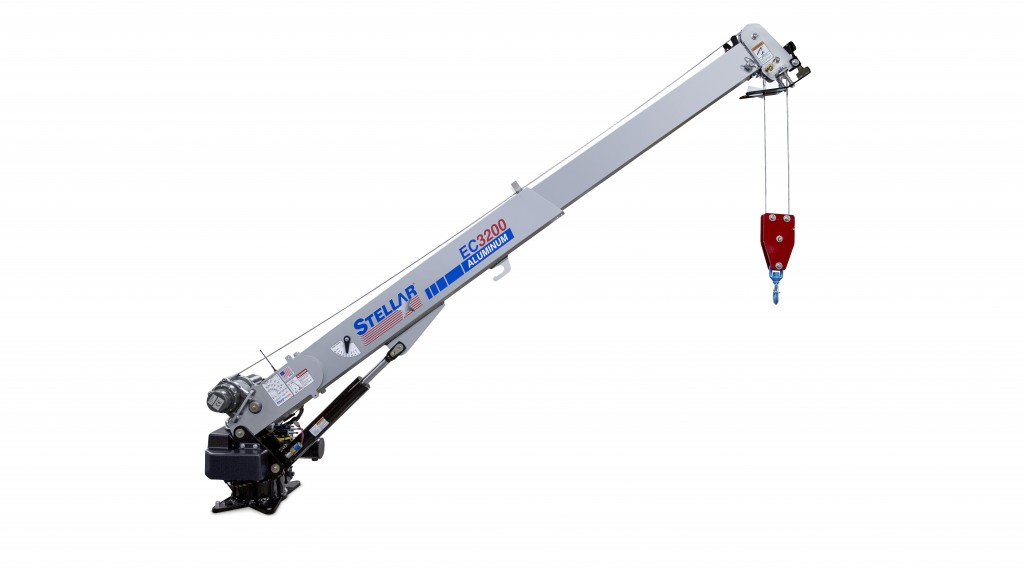 The introduction of the EC3200 Aluminum crane builds on Stellar's long-standing success in manufacturing aluminum truck bodies.