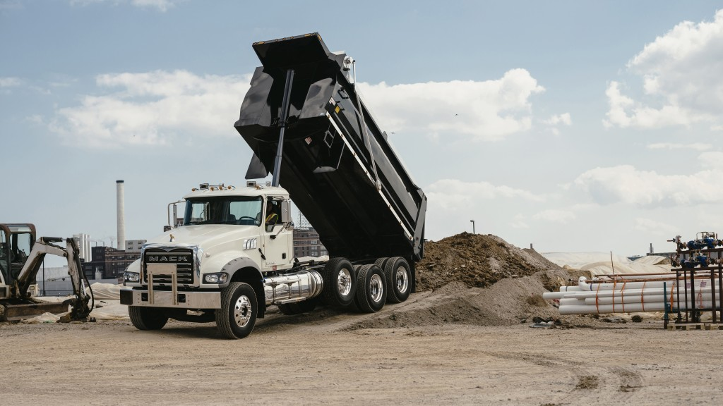 Mack Trucks is making shock absorbers standard on factory-installed auxiliary axles for its Mack® Granite® models to help reduce tire wear and improve driver comfort. Mack made the announcement at the Work Truck Show in Indianapolis.