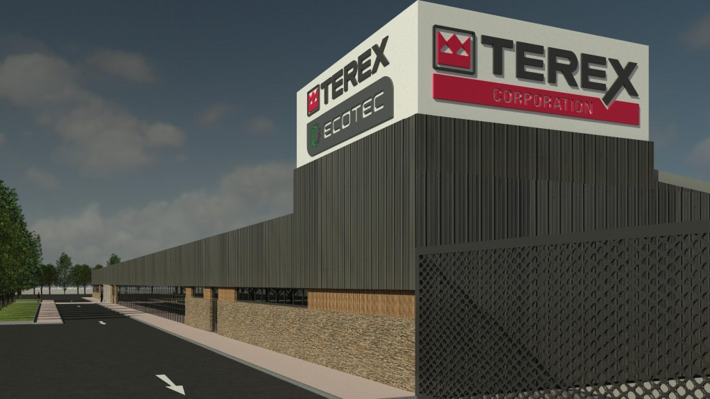 The new 105,000 square foot manufacturing facility will focus on the design, manufacture and development of Terex® Ecotec (waste management and recycling) and Terex Conveying Systems (TCS) (mobile conveying) product lines.