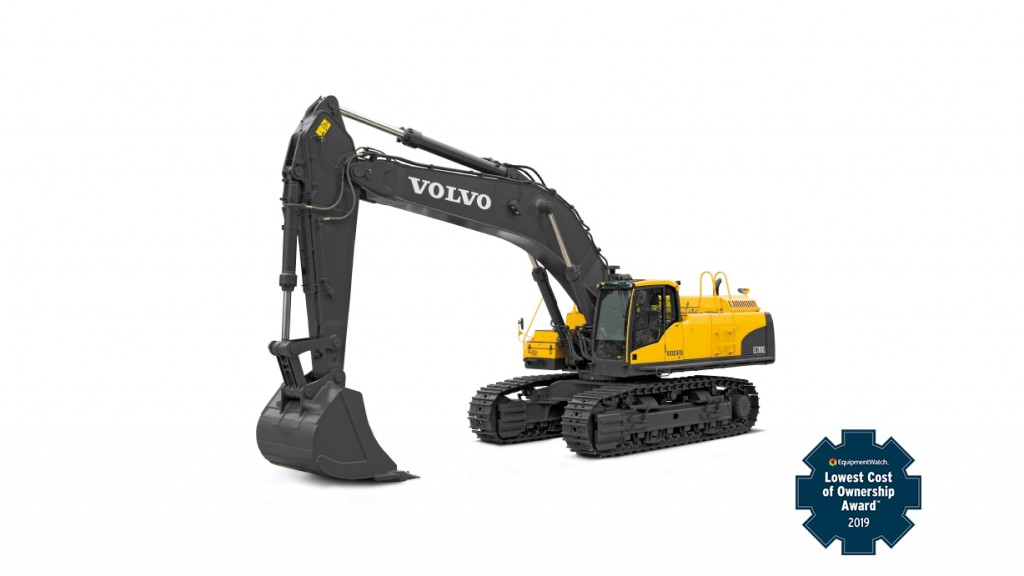 Volvo CE machines win EquipmentWatch's Highest Retained Value and