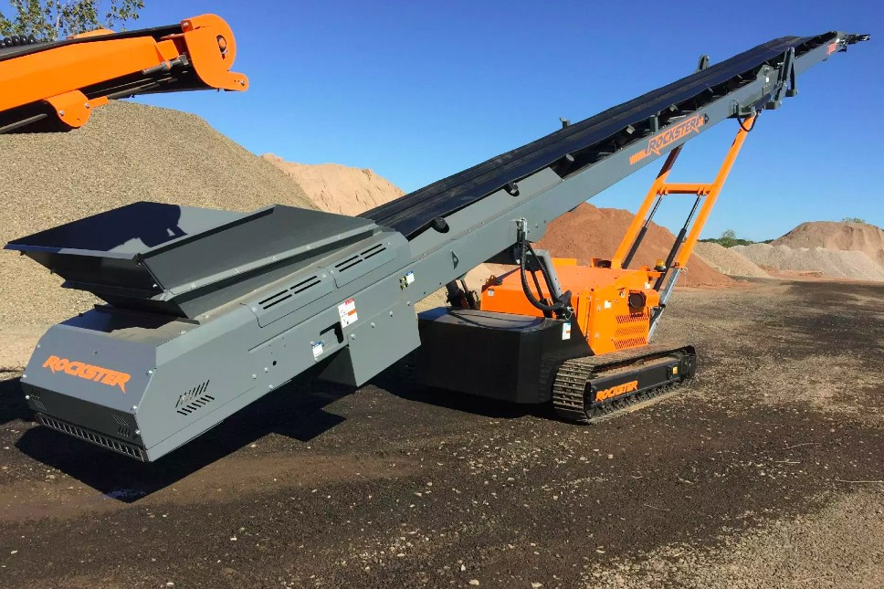 Rockster North America Inc. - RST18 Tracked Stackers