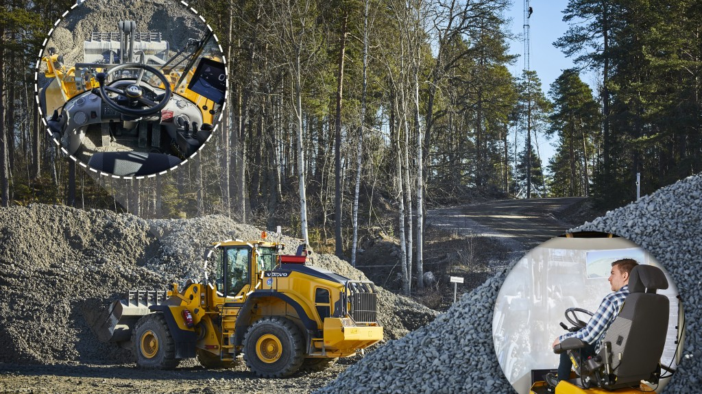 The 5G network will be used at Volvo CE's research and development facility at Eskilstuna to further develop solutions for remote control of construction machinery and fully automated solutions.