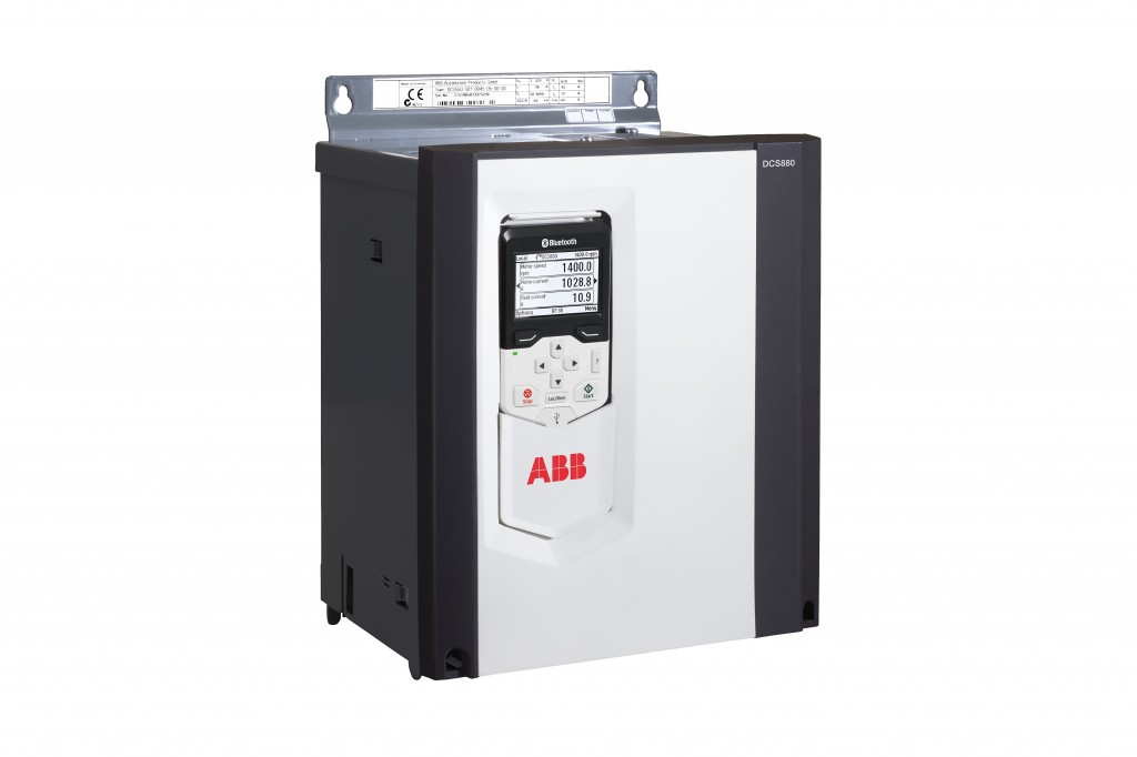 The DC VSDs are built on ABB's all-compatible, common drive platform, sharing the same control panel, features and tools as recent- and future-generation ABB drives. Once users have learned one ABB all-compatible drive, they can easily use other all-compatible drives – both DC and AC.