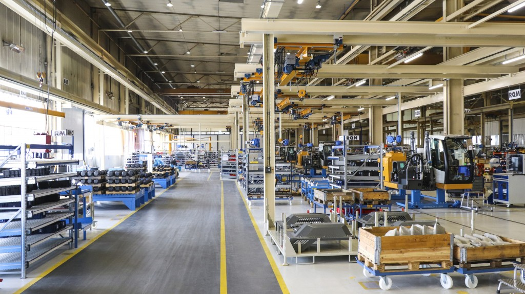 The assembly line is based on the principles of lean management, and will thus contribute to further improvements in quality and productivity.