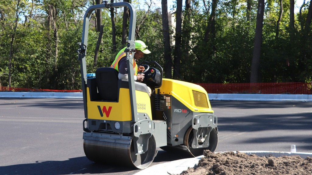 Wacker Neuson's new RD12 rollers are the fifth generation compact rollers designed and manufactured at the company's Menomonee Falls, WI facility.