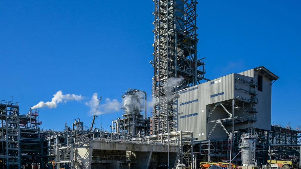 Fluor successfully completes EPC work on Sasol petrochemical complex