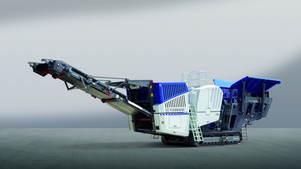 The MC 120 Z PRO mobile jaw crusher MOBICAT is robust and efficient.