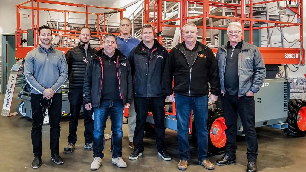 The rental company has signed an exclusive partnership with Skyjack to have the Canadian manufacturer be the sole supplier of all DC electric scissor lifts.
