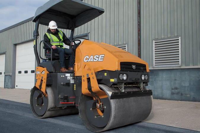 CASE Construction Equipment - DV45D Tandem Asphalt Rollers