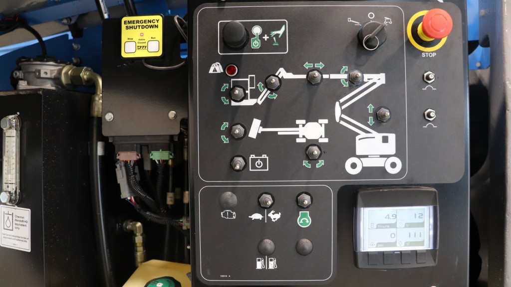 Genie positive air shutdown system now available for booms and telehandlers equipped with Deutz Tier 4 Final engines