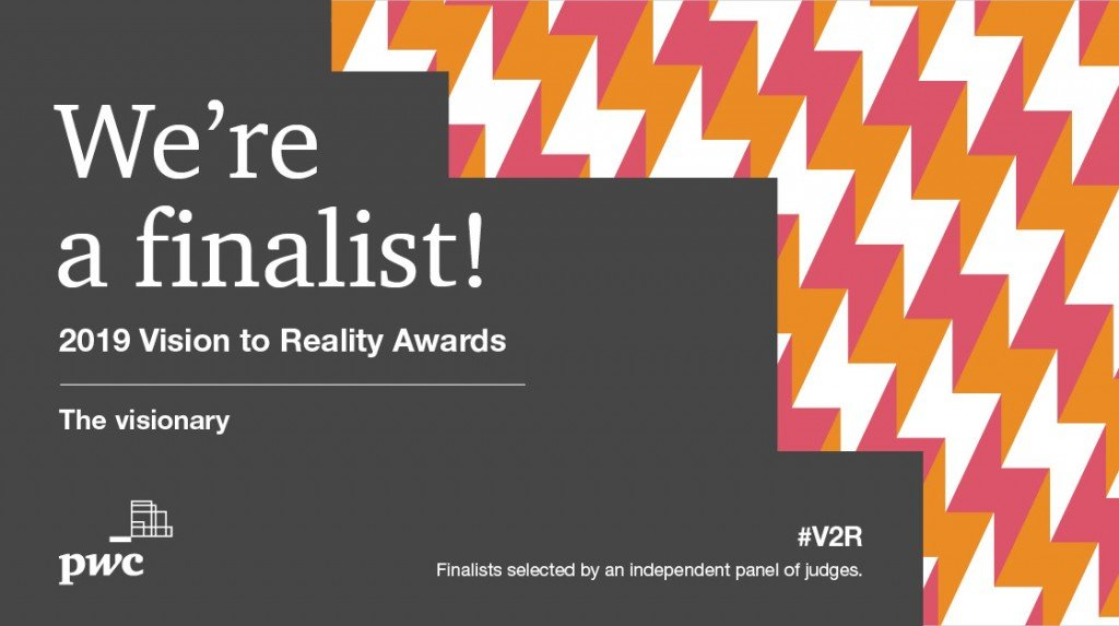 LWR a finalist for PwC CANADA'S V2R Awards