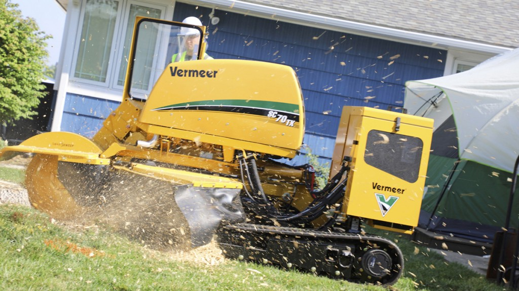 Vermeer upgrades line with new SC70TX stump cutter