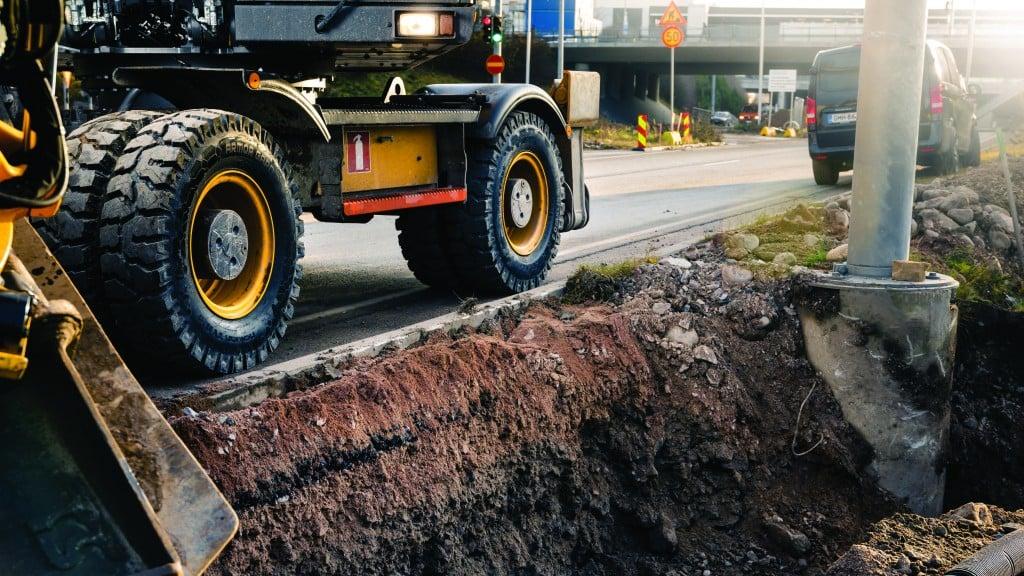 Nokian Armor Gard 2 tires for urban excavation
