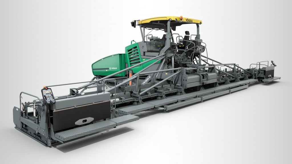 Highlight at Bauma 2019: the SUPER 3000-3(i) is the new flagship in VÖGELE's paver line-up and a representative of the newly introduced Premium Line.
