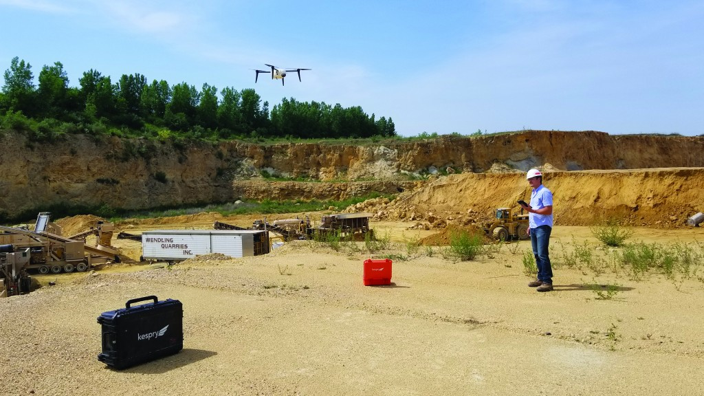 Site planning  with drones