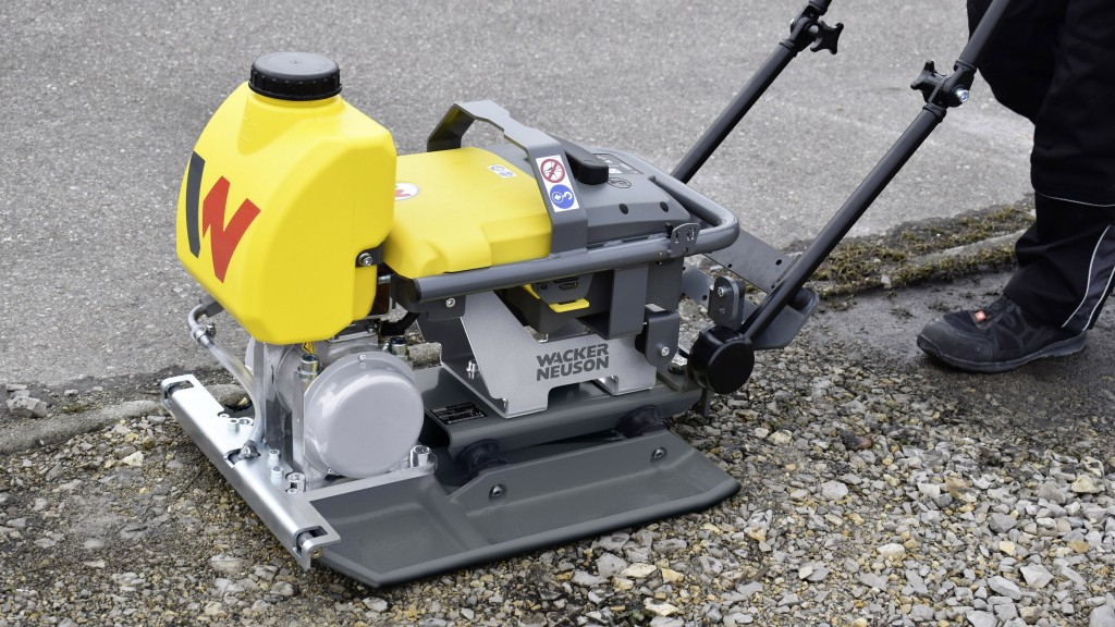 Wacker Neuson offers the first battery-powered, zero emissions plates