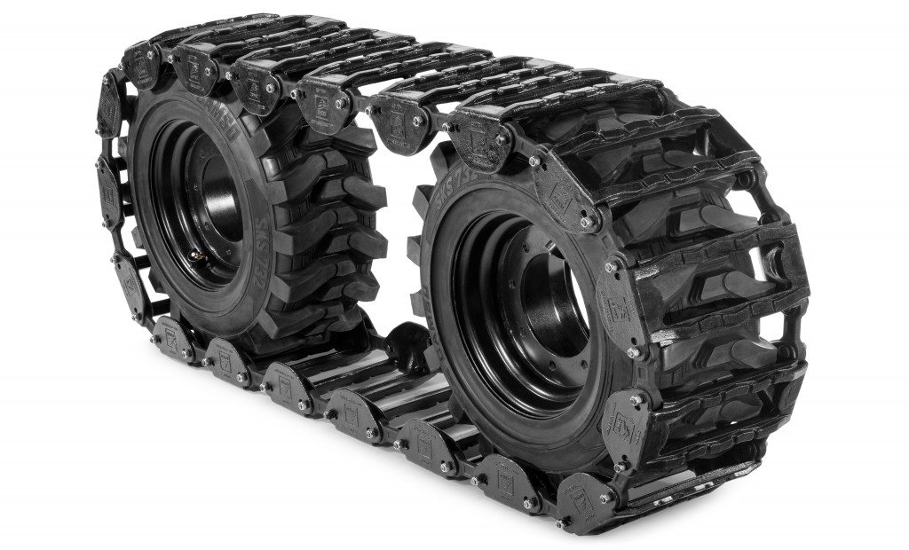 The addition of Camso's skid steer product line complements its well-known offering of OEM and aftermarket skid steer tires, CTL tracks and Rubber OTT tracks.