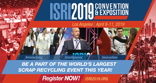 ISRI2019 to host first public hearing on revision of R2 e-waste standard