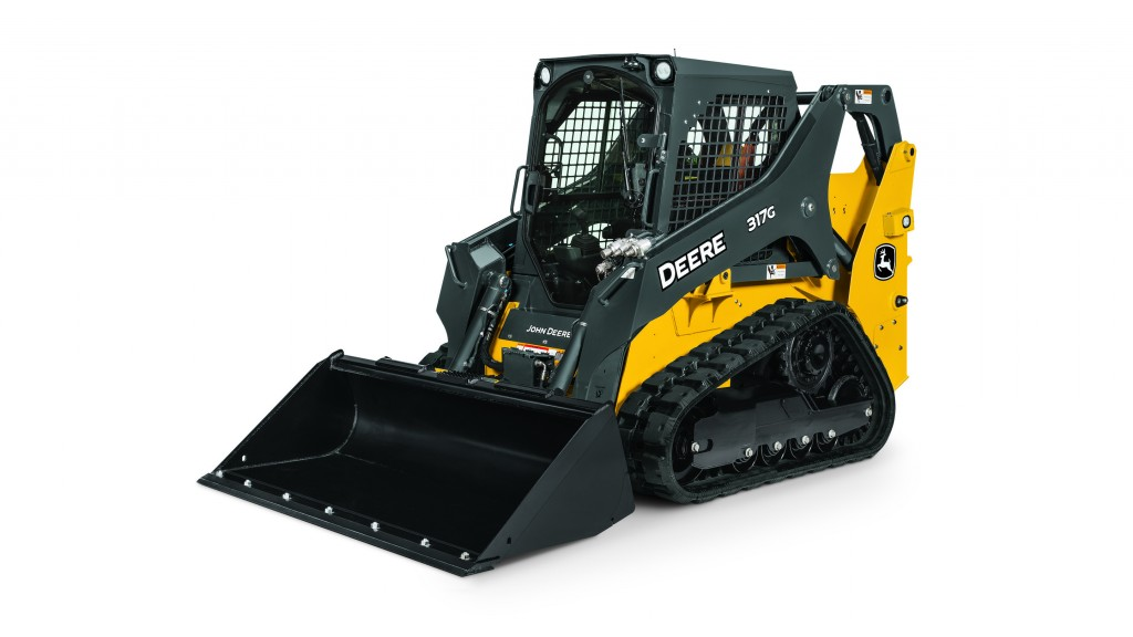 the 317G compact track loader