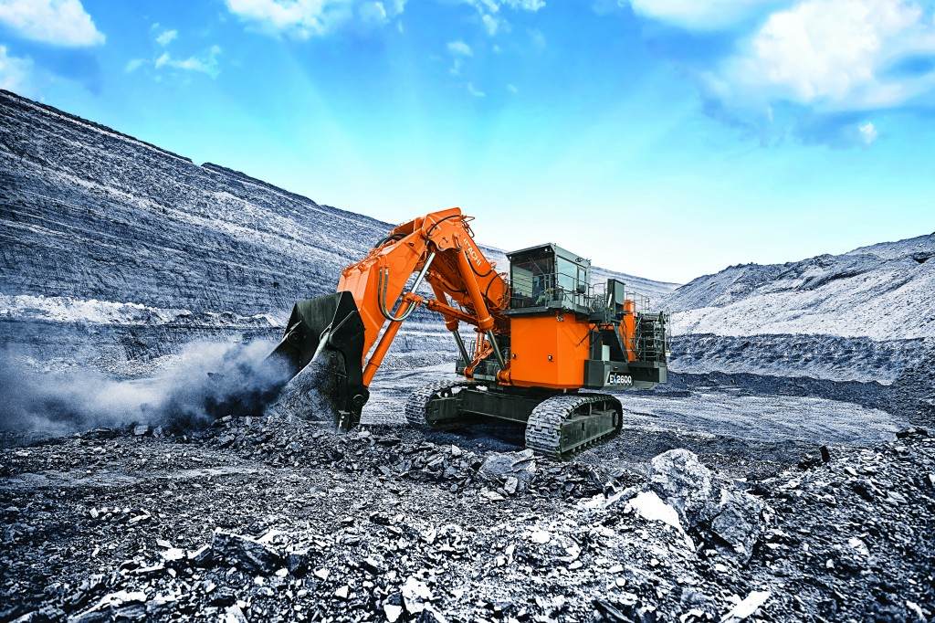 Hitachi Construction Machinery Corporation - EX2600-7 Mining Shovels