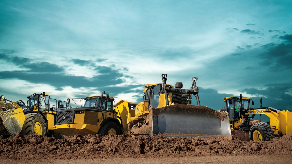 John Deere to exhibit construction equipment for the first time at bauma within the Wirtgen Group booth