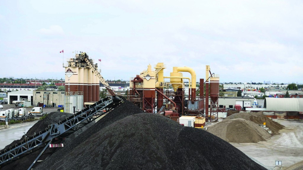 Recycled aggregates  for roads