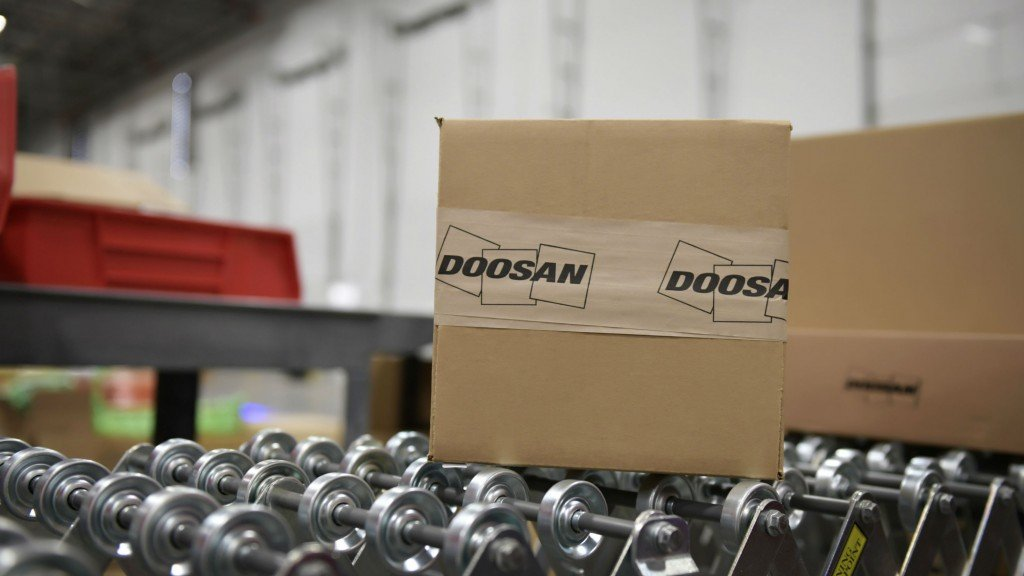 Doosan opens new parts distribution centre near Seattle