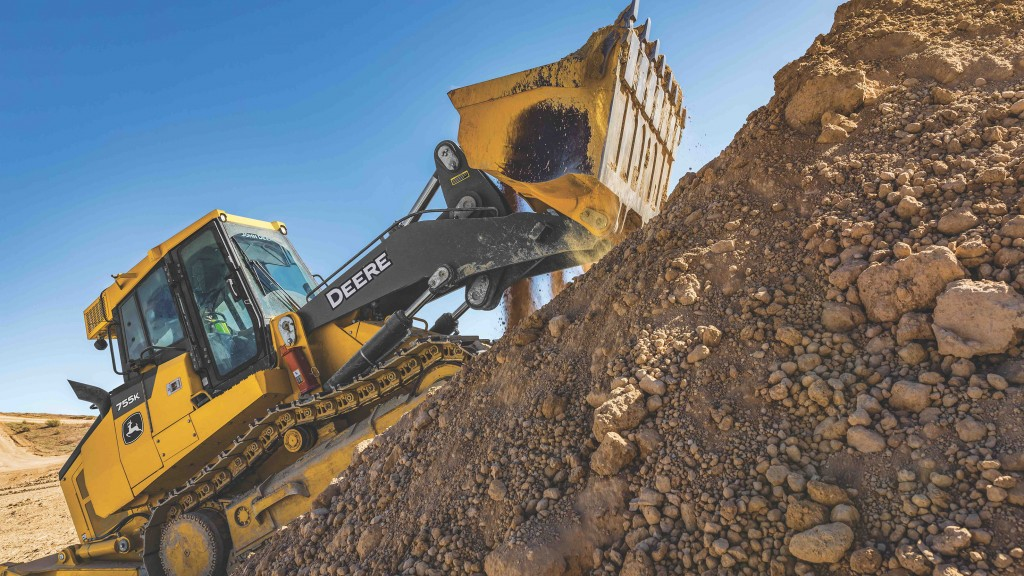 John Deere  Unveils All-New Crawler Loaders