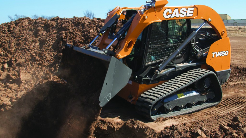 Case's largest-ever  compact track loader