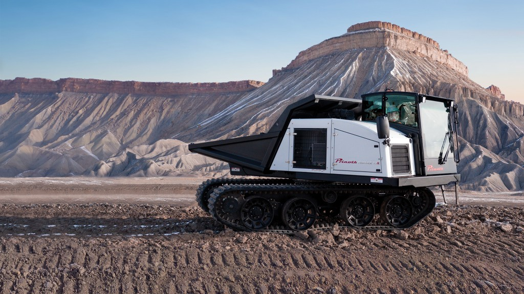 PRINOTH launches Panther T7R at bauma