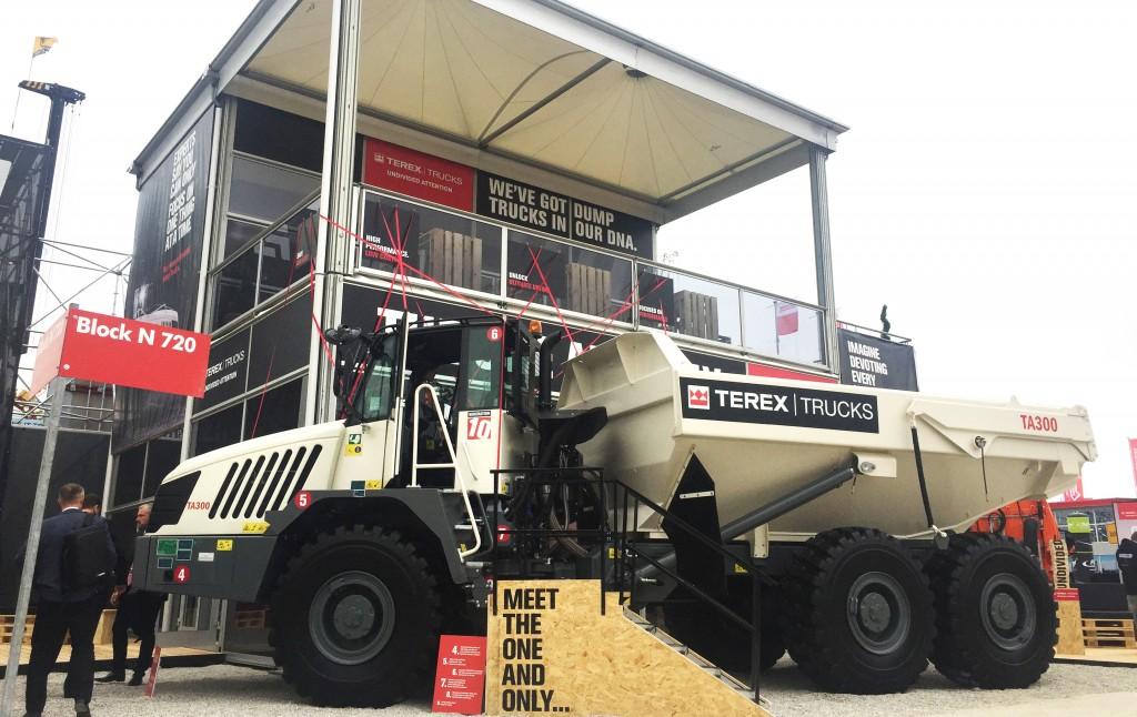 Terex Trucks' updated TA300 makes international show debut at bauma 2019