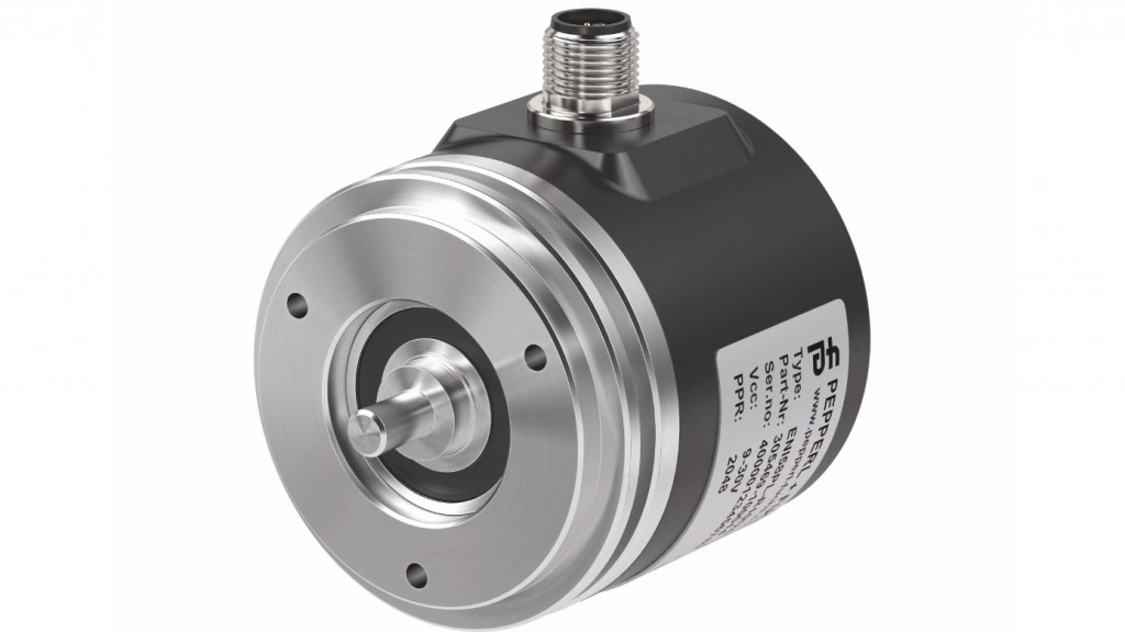 Rotary encoder from Pepperl+Fuchs allows custom configuration