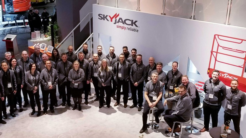 Skyjack showcases new models and new technology at bauma