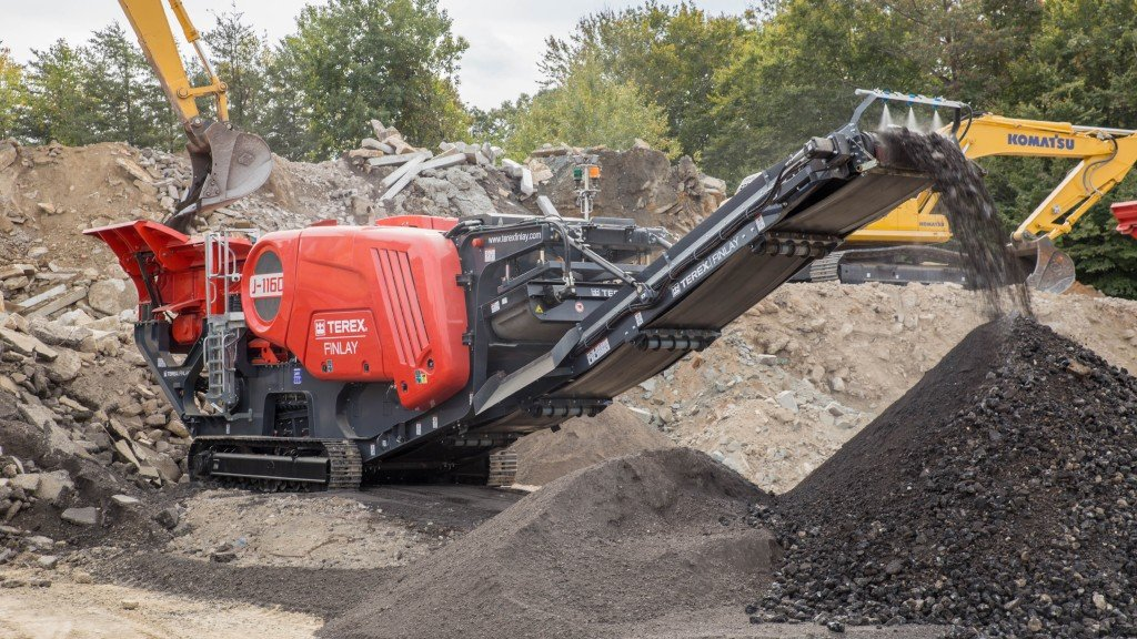 Terex Finlay J-1160 second generation jaw crusher