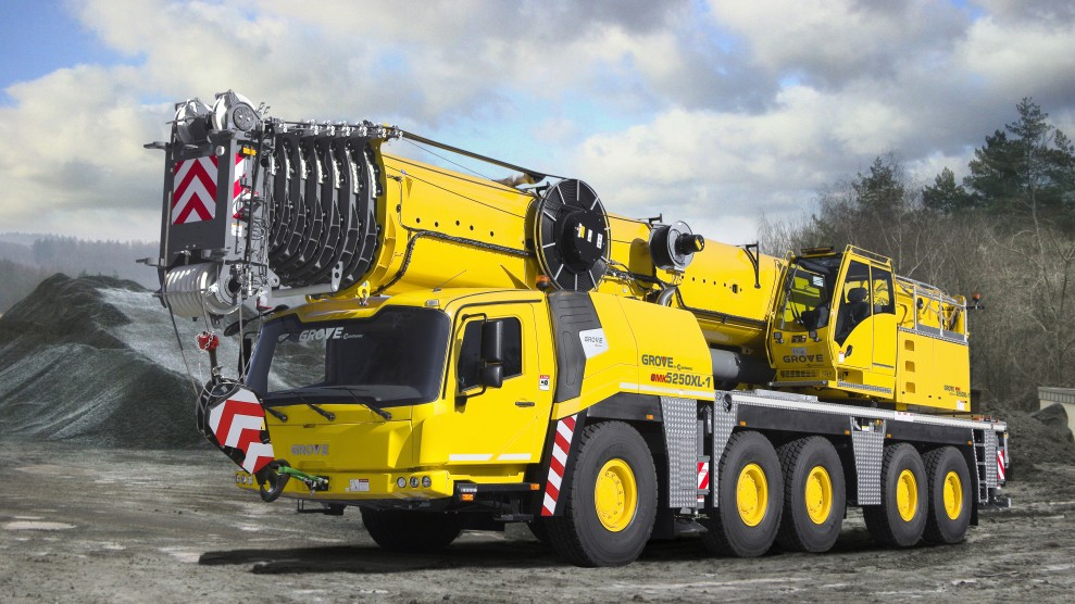 Three new Grove all-terrain cranes at bauma 2019