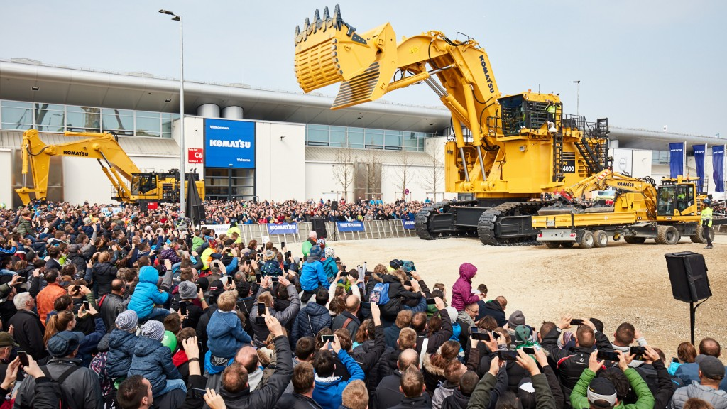 Around 3,700 exhibitors from 63 countries attended bauma 2019.