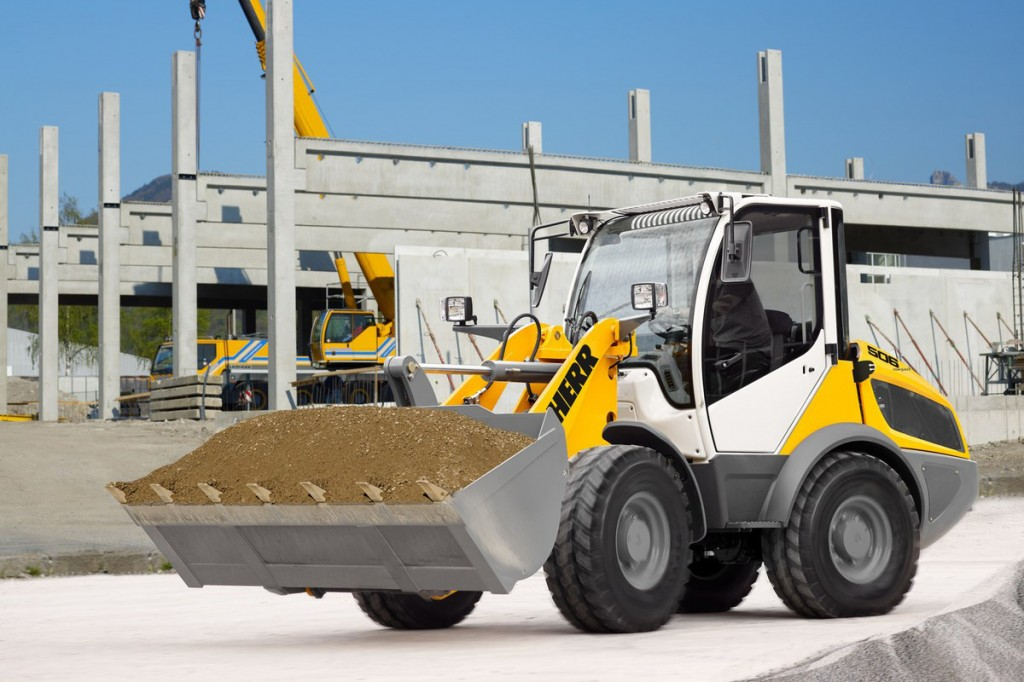 Liebherr Canada - L 506 Compact Wheel Loaders
