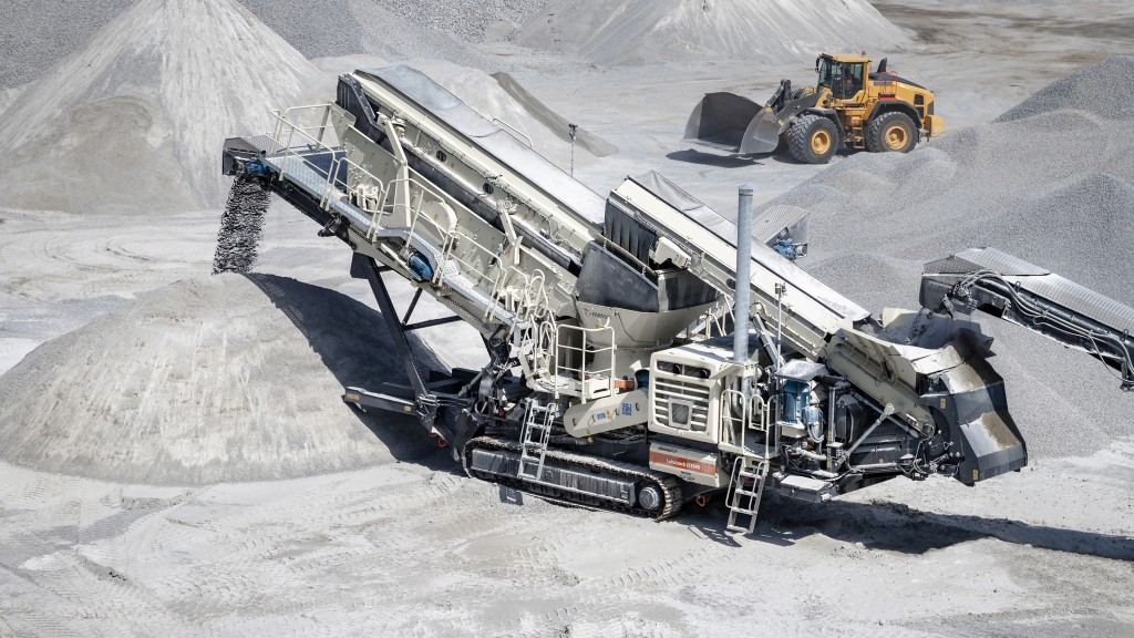 World-leading aggregates equipment OEM Metso has ordered Volvo Penta Stage V engines to provide fuel-efficient power to a selection of its Lokotrack® mobile crushing machines, the market-leading solution for mobile crushing and screening.
