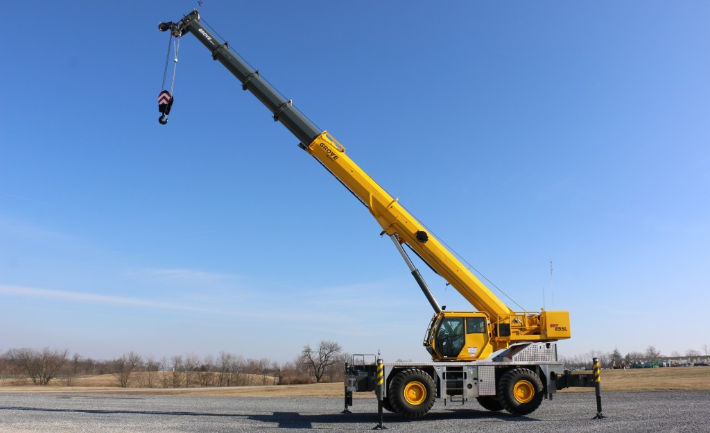 Grove shows new rough-terrain cranes at bauma 2019