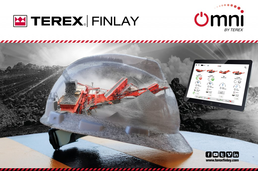 """OMNI by Terex is ground-breaking technology that will revolutionize the crushing and screening jobsite,"" Barry McMenamin, Group Engineering Director with Terex Materials Processing explained."