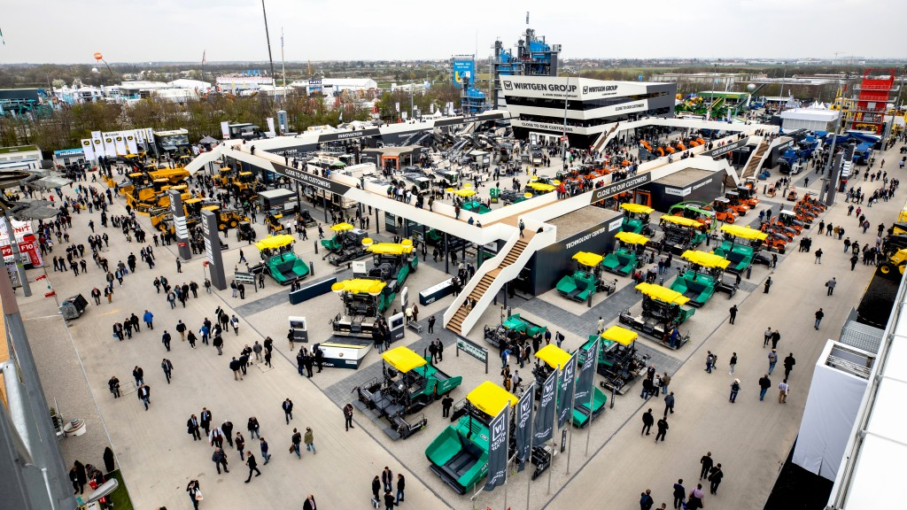 Wirtgen Group booth at Bauma 2019 draws record number of visitors